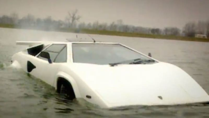 Do You Want A Cheap Amphibious Lamborghini Countach