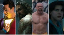 Comic-Con 2018: Aqui estão os trailers de Acquaman, Shazam!, Vidro e