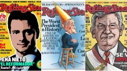 Las portadas polémicas de Rolling Stone con los políticos del