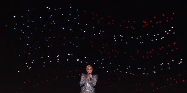 Comment ont été créées les centaines d'étoiles pendant le show de Lady Gaga à la mi-temps du Super Bowl