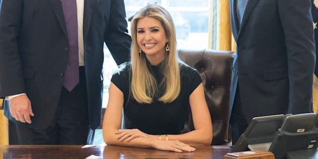 Ivanka Trump décroche un bureau à la Maison Blanche