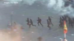 Les images des heurts avec les manifestants anti-G20, qui ont fait plus de 150 blessés parmi la