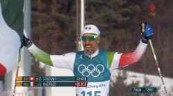 Ce skieur mexicain a fini sa course en héros aux JO d'hiver, mais pas pour la raison que vous