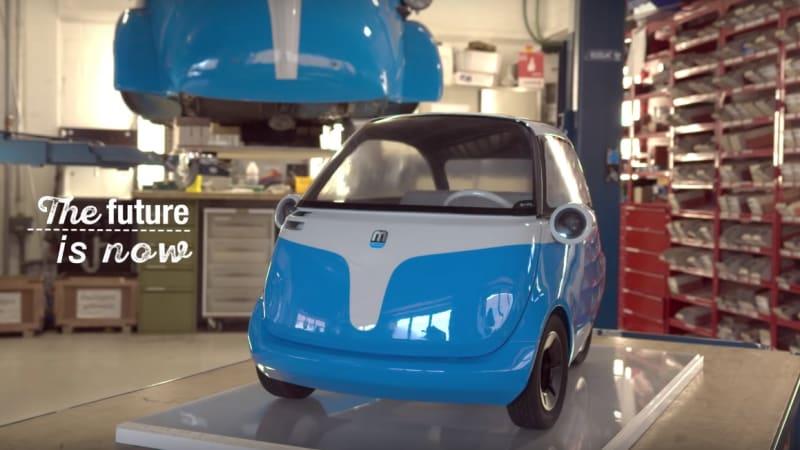 BMW Isetta resurrected as Microlino EV | Autoblog