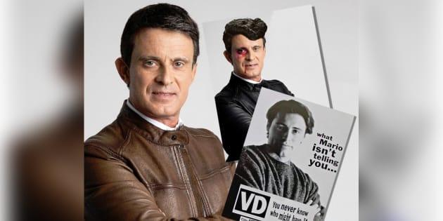 Cette photo de campagne de Valls vaut le détour(nement)