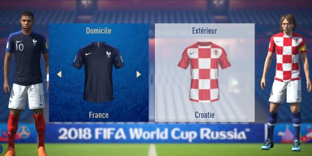 France-Croatie: l'intelligence artificielle de FIFA 18 nous donne encore plus de raisons d'y croire