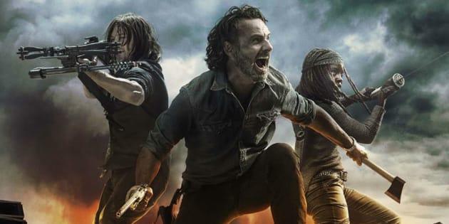 """Daryl, Rick et Michonne... un personnage central de """"Walking Dead"""" serait sur le départ et ça ne laisse rien présager de bon"""