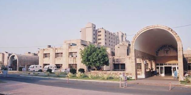 Lucknow's Sanjay Gandhi Postgraduate Institute of Medical Sciences (SGPGIMS).