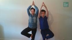 Pratiquer le yoga avec ses enfants, c'est