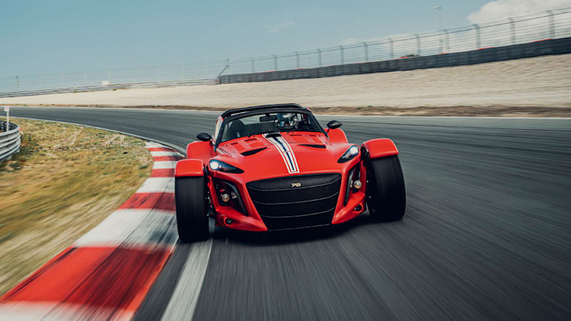 The Donkervoort D8 GTO-JD70 R is only for the track, costs $230K