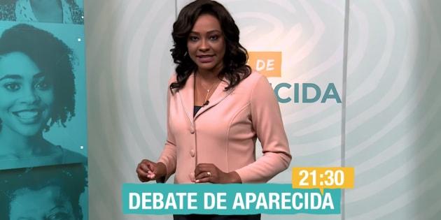 O debate da TV Aparecida será realizado na quinta-feira (20) e mediado pela jornalista Joyce Ribeiro.