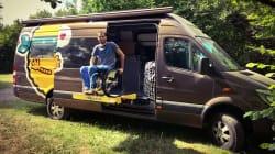 «Sam fait rouler»: le projet d'un Français tétraplégique pour un «road trip» à travers 16 pays, dont le