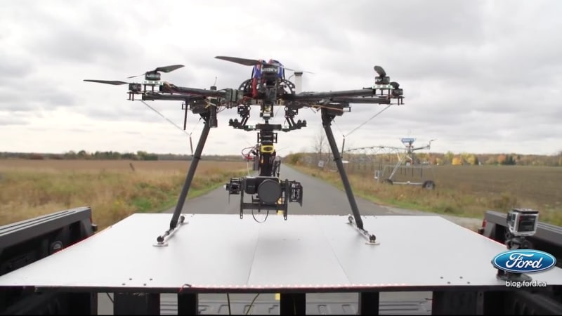 Ford Drone Landing