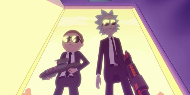 """""""Rick et Morty"""": la série préférée de Kanye West enfin renouvelée ."""