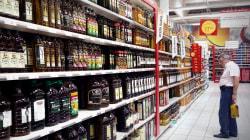 El mismo aceite se vende a 5,94 euros en Alcampo y a 7,45 euros en