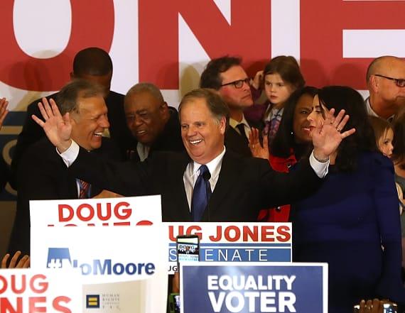 Doug Jones beats Roy Moore in Alabama Senate race