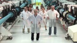Le nouveau Nobel français rattrapé par un vieux clip avec des laborantines en petite