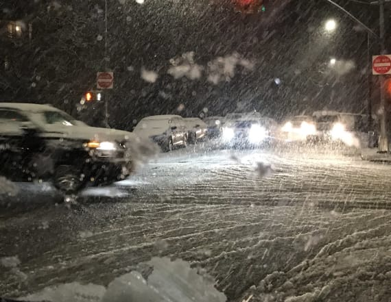 Snow blankets northeastern US