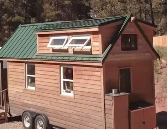This couple travels the country in a tiny home
