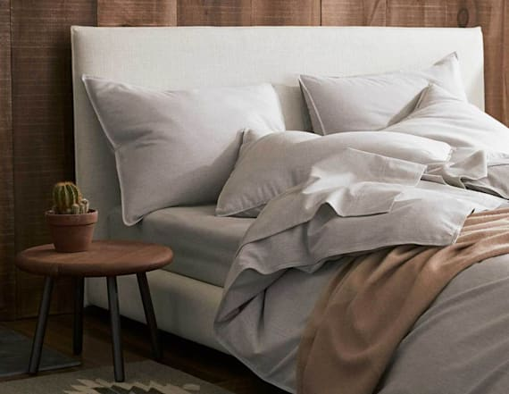 Brooklinen's cashmere sheets are super cozy for fall