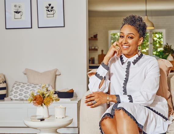 Tia Mowry's Etsy home collection has dreamy decor