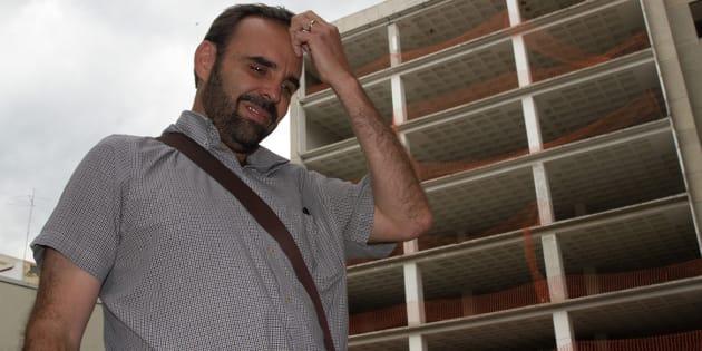 Arne aus den Ruthen en mayo de 2016, cuando era City Manager de la delegación Miguel Hidalgo.