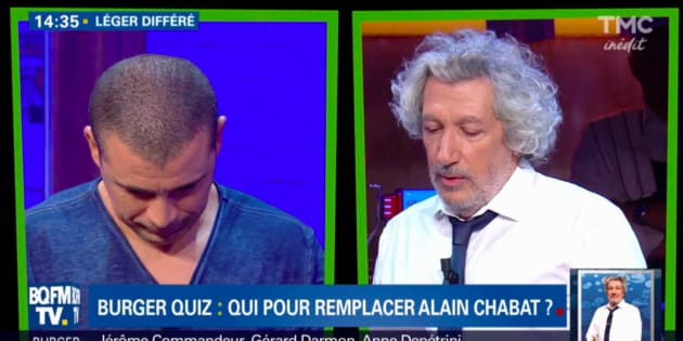 Alain Chabat plus fort que Vincent Lagaf' en audience — Burger Quiz