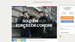 La cagnotte Leetchi pour les policiers dépasse les 100.000 euros de dons en quelques