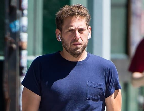 Slimmed-down Jonah Hill is nearly unrecognizable