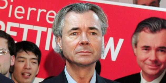 Pierre Pettigrew en janvier 2006.