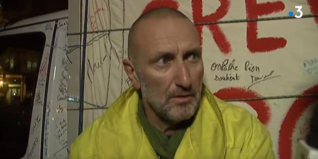 Patrick de Perglas a entamé une grève de la faim il y a neuf jours.