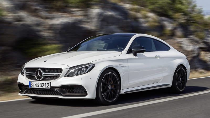 2017 mercedes amg c63 coupe unleashed with 503 hp w video. Black Bedroom Furniture Sets. Home Design Ideas
