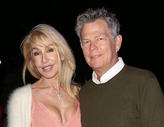 Linda Thompson reacts to ex David Foster engagement