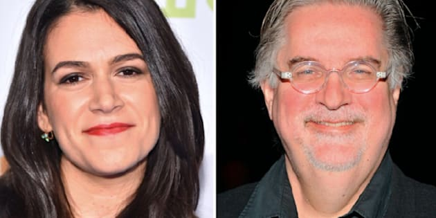 Abbi Jacobson and Matt Groening at teaming up.