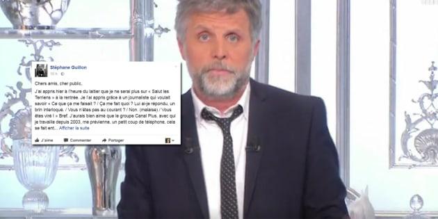 """Stéphane Guillon ne sera pas dans """"Salut les terriens"""" à la rentrée."""