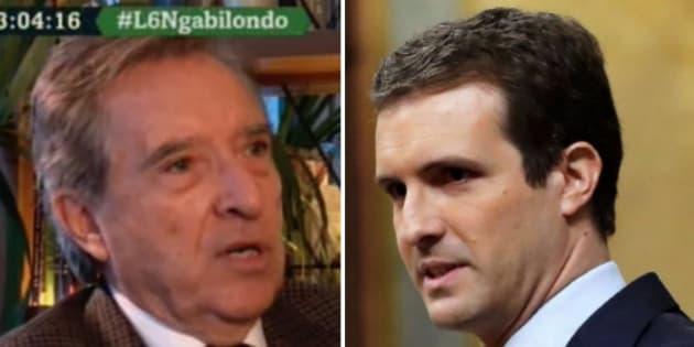 Iñaki Gabilondo y Pablo Casado