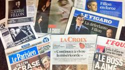 La surprise Fillon plutôt que l'échec de Sarkozy à la une de la