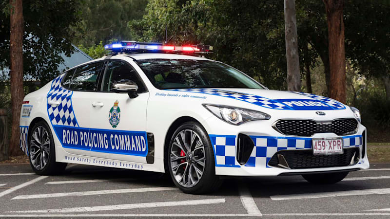 2018 Kia Stinger Gt Becomes Queensland Police Car Autoblog