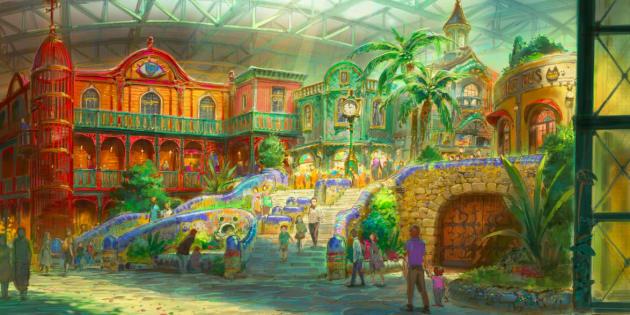 Au japon, un parc d'attractions dédié au Studio Ghibli devrait ouvrir ses portes en 2022.