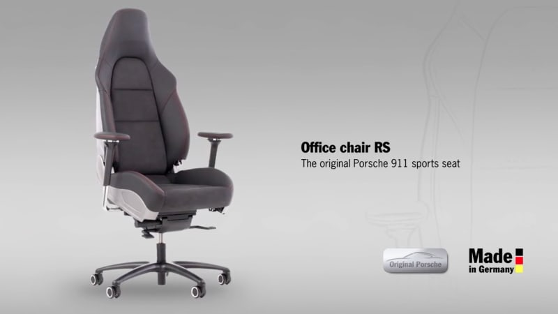 Porsche sells a $6,570 office chair - Autoblog
