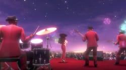 Une musique à paroles pour Super Mario Odyssey, une grande