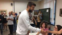 Piqué a voté au référendum en Catalogne pour