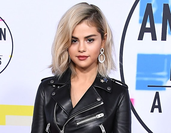 Selena Gomez stuns in yellow gown as a new blonde