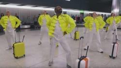 El tronchante homenaje del aeropuerto de Londres a Freddie Mercury, que fue maletero