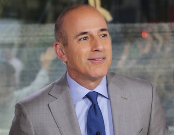 Matt Lauer recreates infamous interview