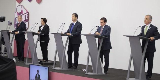 El pasado 17 de mayo se realizó el primer debate de los aspirantes a gobernar la entidad.
