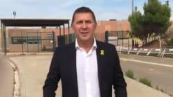 Otegi visita a políticos catalanes presos en la cárcel de