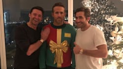 Ryan Reynolds Suffers Christmas Prank At The Hands Of Hugh Jackman And Jake