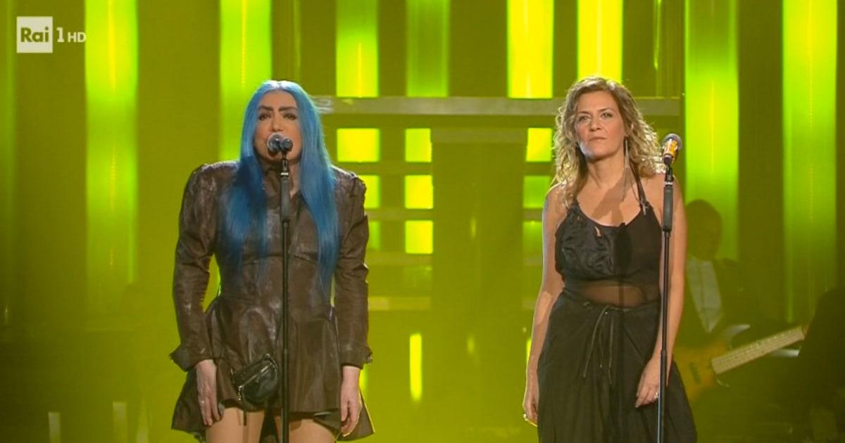 Sanremo 2019: con Loredana Bertè e Irene Grandi l'Ariston trema e parte la standing ovation