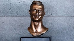 El escultor del busto de Cristiano Ronaldo lo ha vuelto a